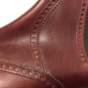 Hermes Shoes - Hermes Mens Chelsea Wingtip Ankle Boots Size 40